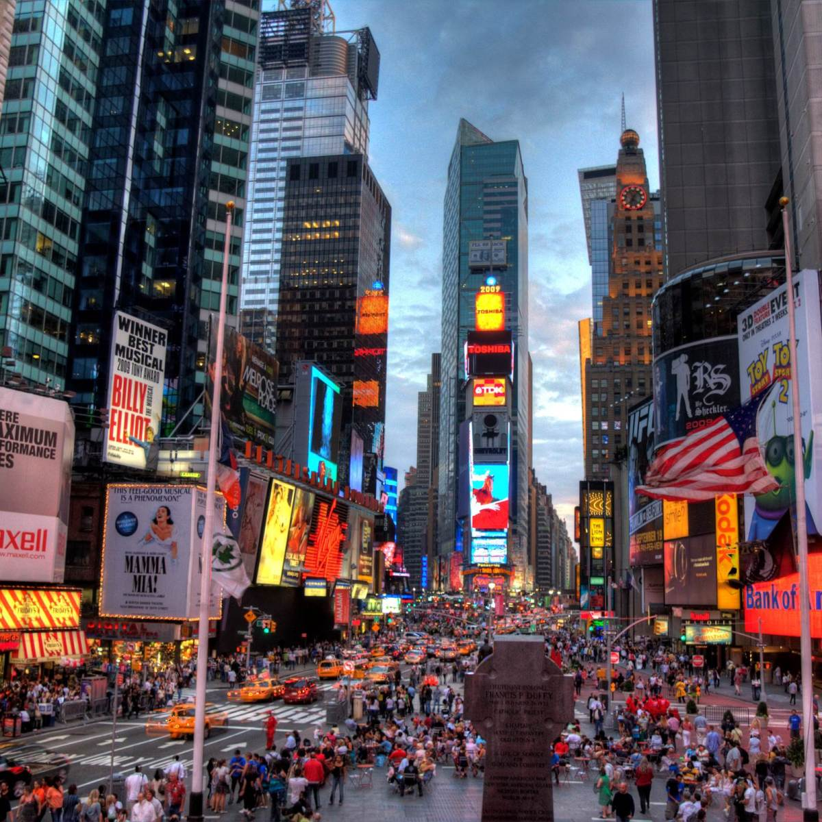 Essay about time square